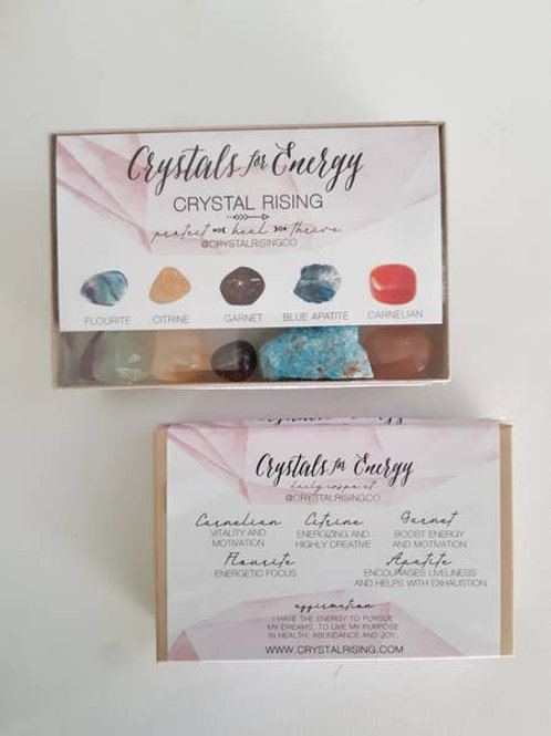 Crystals for Energy