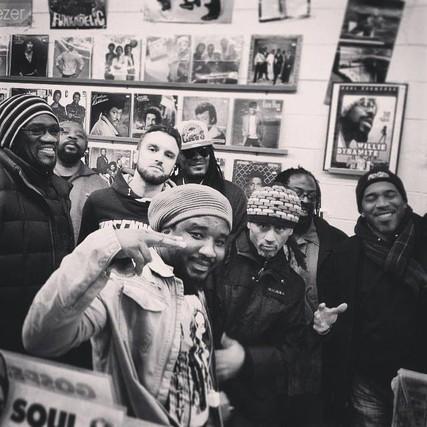 bazil chicago record store flex crew hyde park reggae