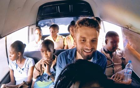 bazil jamaica mini bus kids school