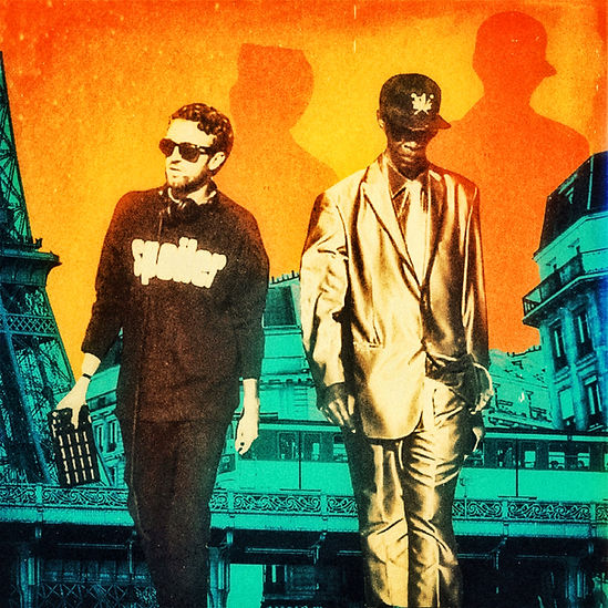 Bazil et Joseph cotton on their reggae song now you learn in paris