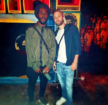 bazil & chronixx in jamaica