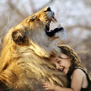Le Petit Lion Courageux