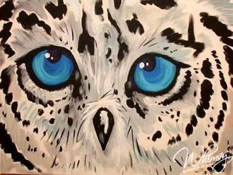 Cute Blue Hoot