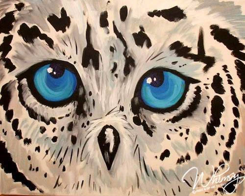 Cute Blue Hoot