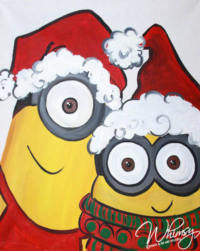 Christmas Minion KC