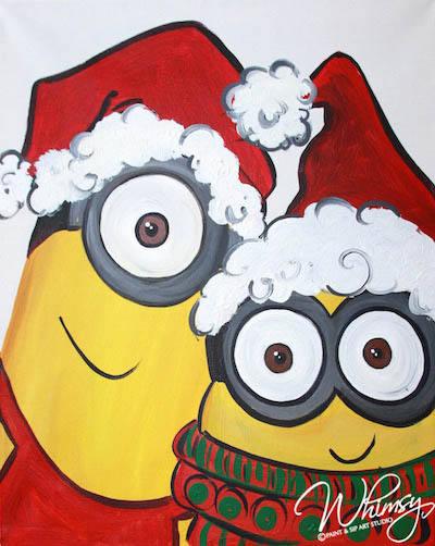 Christmas Minion KC