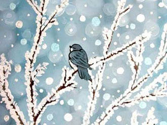 Frosted Perch