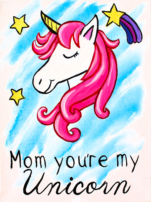 Mother's Day Greetings Unicorn