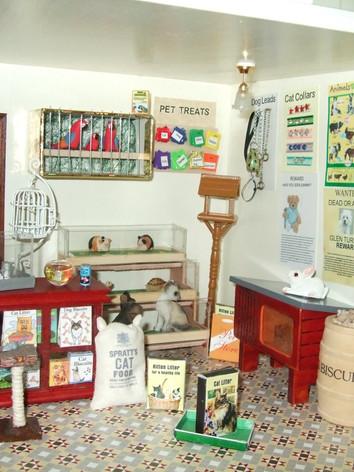 Joan's Pet Shop interior