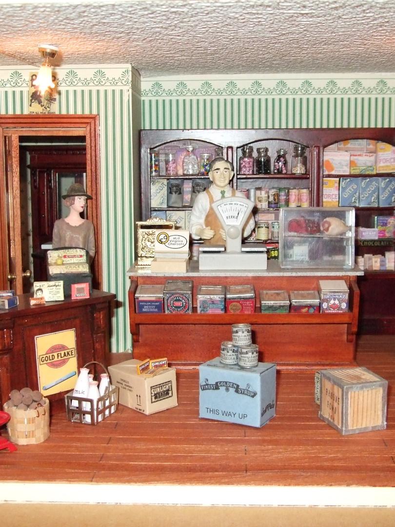 Mrs. Hough's shop area.