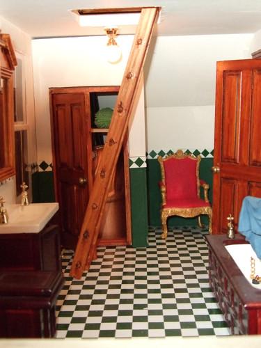 The Hough's bathroom.