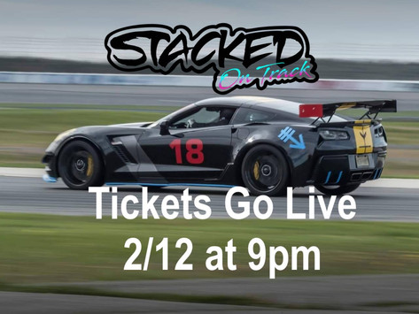 Stacked On Track Season Opener Tickets Live 02/12 @ 9pm