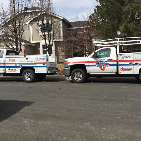 When Aim High HVAC comes to your home your street might look like this.
