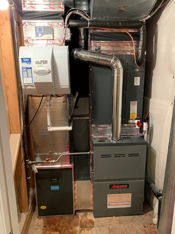After: New Amana furnace.