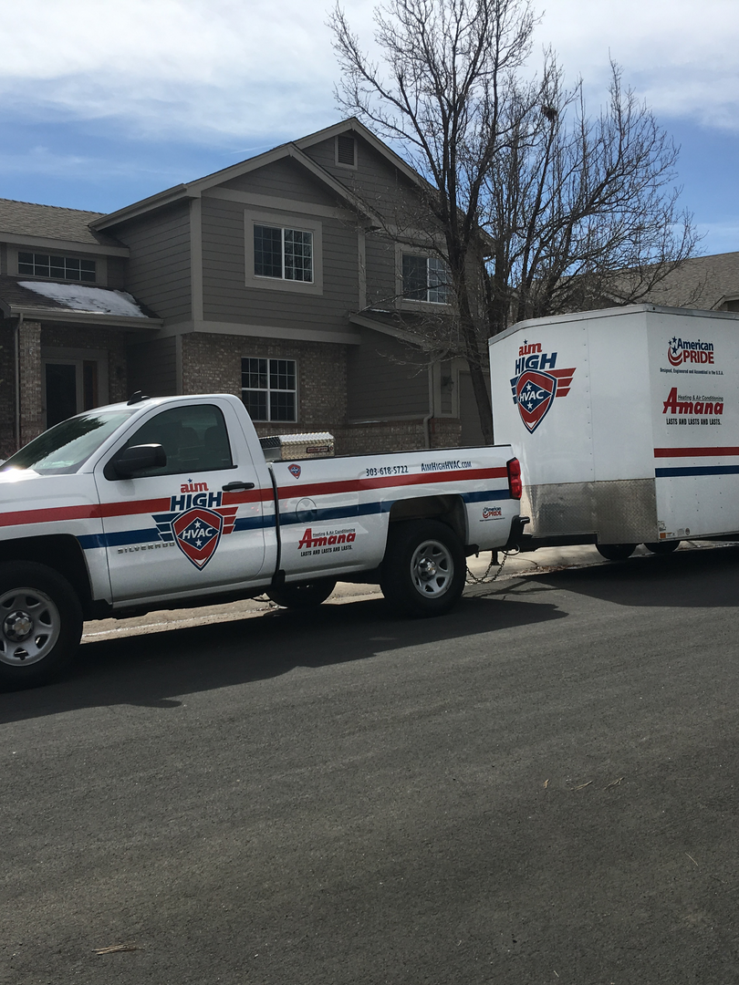 Aim High HVAC offers heating andair conditioning service. Equipment repair, maintenance and installation.