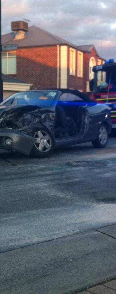 Hannah Car Crash 2012