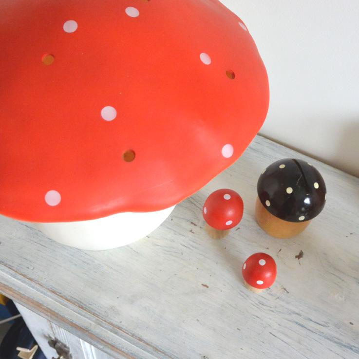 Lampe champignon Egmont