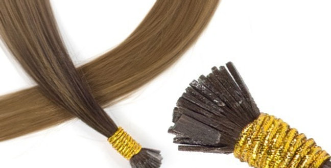 20″-22″ Russian Flat Tips Pre Bonded (1 Pack of 25 Strands)