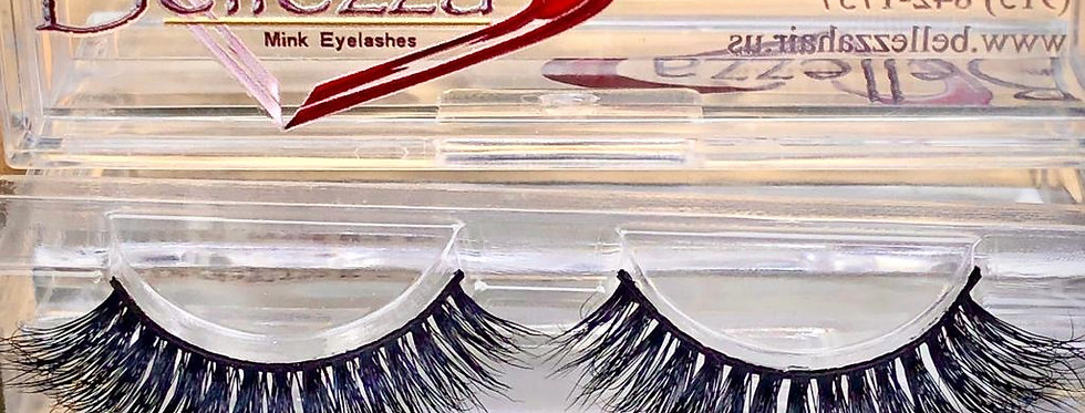 GLAMOUR 3D Faux Mink Eyelashes (2 Sets)