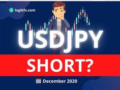 USDJPY Trade Idea (Dec, 2020) Incoming BEAR Market?