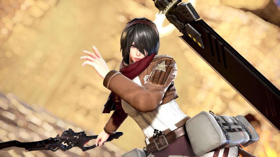 2B Mikasa Attack on Titan