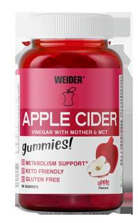 Weider Gummies Apple Cider Dose 50 Stk