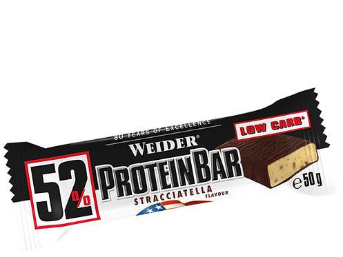 Weider 52% Protein Riegel Display 24 Stk