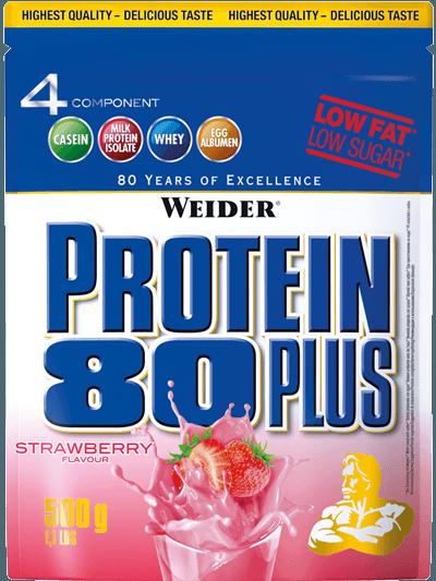 Weider 4 Komponenten Protein 80+ Beutel 500g