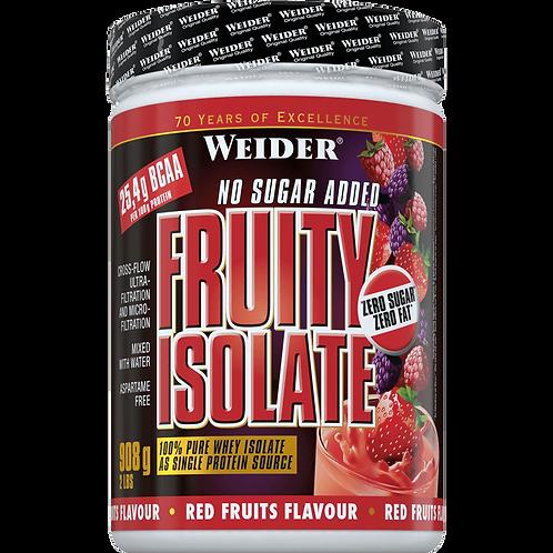Weider Fruity Isolate Molkeproteinisolat Dose 908g