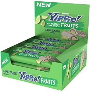Weider Yippie!  Bar Fruits Display 12x45g