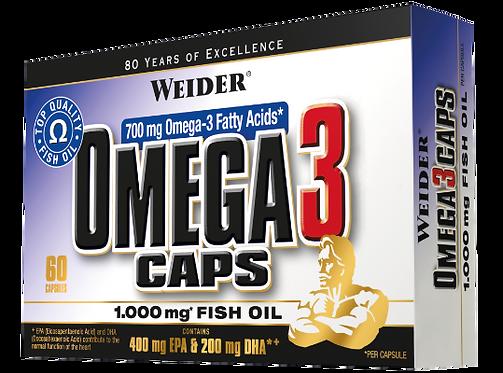 Weider Omega3 Caps 60 Kapseln
