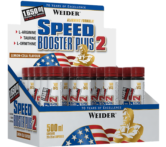 Weider Speed Booster Display 20 Ampullen