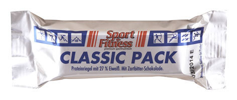 Sport + Fitness Classic Pack Riegel Display 24 Stk