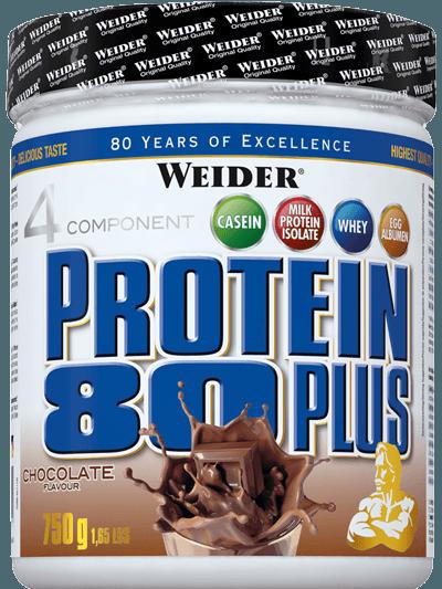 Weider 4 Komponenten Protein 80+ Dose 750g
