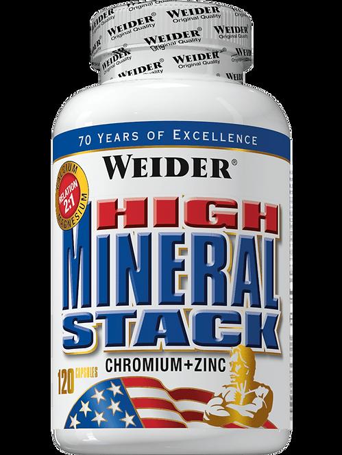 Weider High Mineral Stack Dose 120 Tabletten