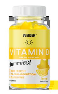 Weider Gummies Vitamin D Dose 50Stk