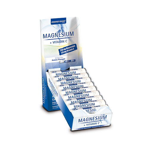 Energybody Magnesium liquid Display 20 Ampullen