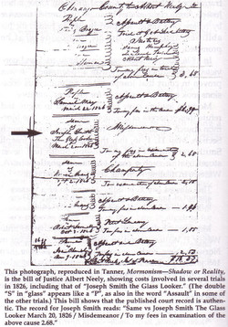 Joseph Smith Arrested.