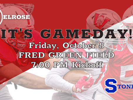 MELROSE v STONEHAM at Fred Green Field! Game Day Info & Link to Livestream.