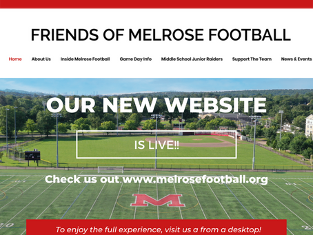 THE NEW FRIENDS OF MELROSE FOOTBALL WEBSITE IS LIVE!