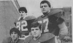 1984 - George Karelas, John Mercer, Brian Kelliher and Rob Morris