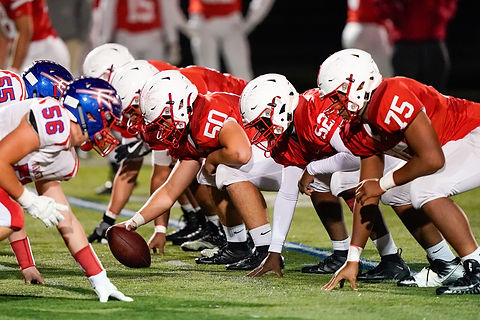 Melrose Red Raiders Offensive Line 2020
