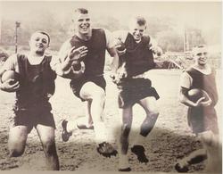 1961: JImmy Umile, Dave Reardon, Teddy Hoague, Billy Hardy