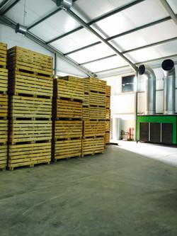 NML Mtanga Tanzania Seed Storage