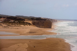 Foz do Arelho sea beach