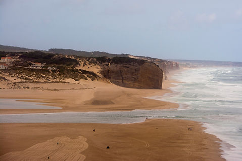 Praia do Mar in Foz do Arelho