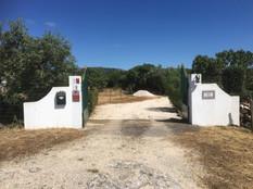 Entrance entrada Casas do Carvalho