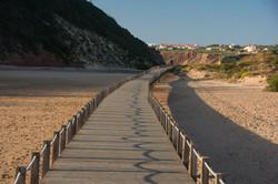 Boardwalk at Salir do Porto