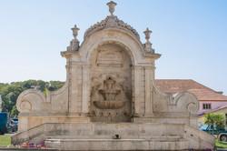 Caldas da Rainha fountain
