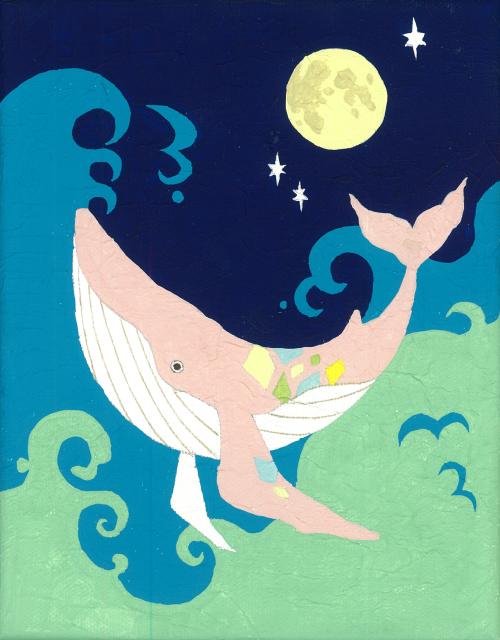 月とクジラ